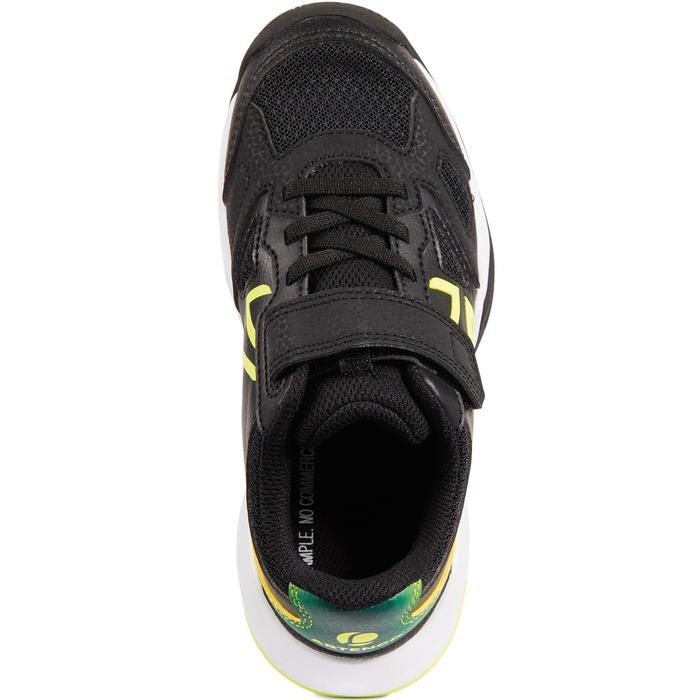 CHAUSSURES ENFANT TENNIS ARTENGO TS560 KD BLACK YELLOW