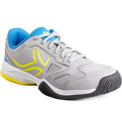 CHAUSSURES DE TENNIS ENFANT ARTENGO TS560 JR GREY YELLOW