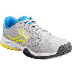 Tennisschoenen voor kinderen Artengo TS560 KD grijs geel