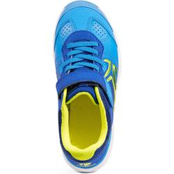 CHAUSSURES ENFANT TENNIS ARTENGO TS160 BLUE YELLOW