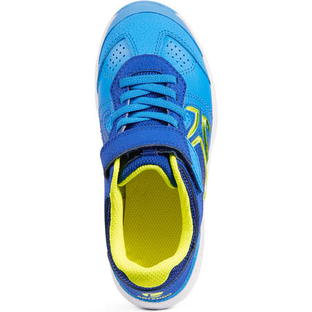 TS160 Kids' Tennis Shoes - Blue/Yellow