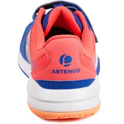 Tennisschuhe TS560 Turnschuhe Kinder indigo/pink