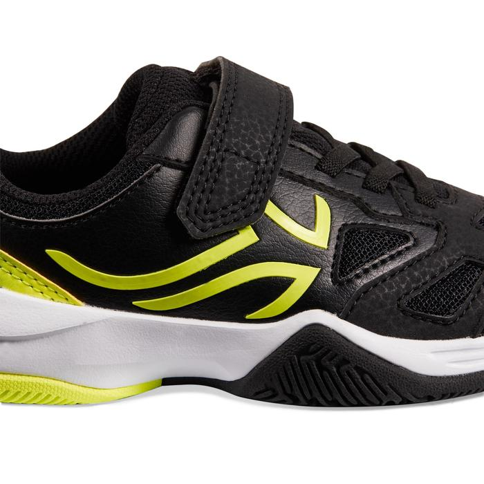 TS560 KD Kids' Tennis Shoes - Black/Yellow