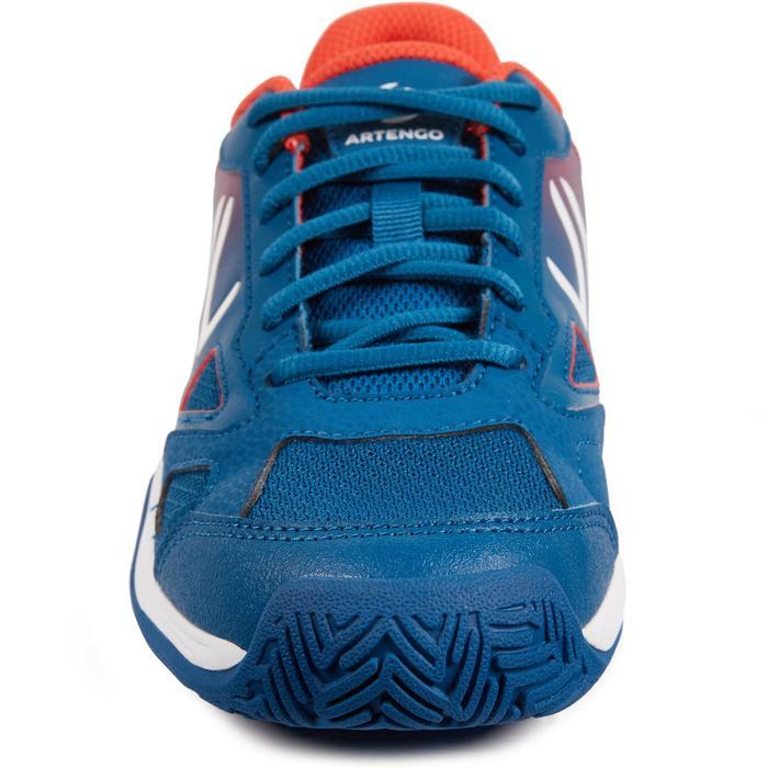 CHAUSSURES DE TENNIS ENFANT ARTENGO TS560 JR BLUE RED