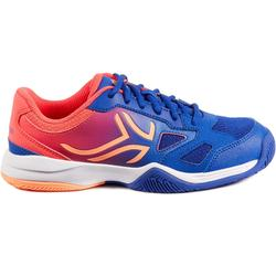 Tennisschoenen jongeren Artengo TS560 indigo/roze