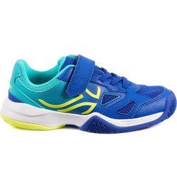 Tennisschoenen voor kinderen Artengo TS560 indigo/turkoois