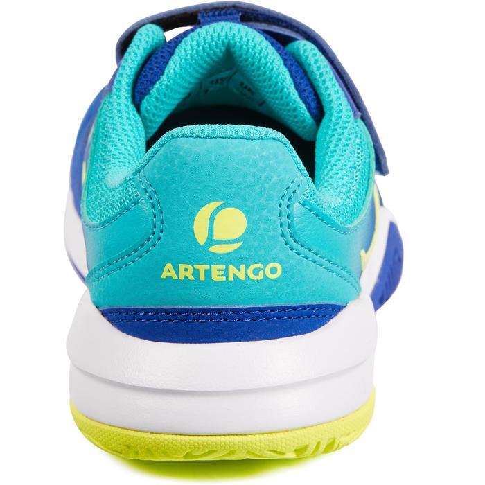 Tennisschoenen kinderen Artengo TS560 indigo/turkoois