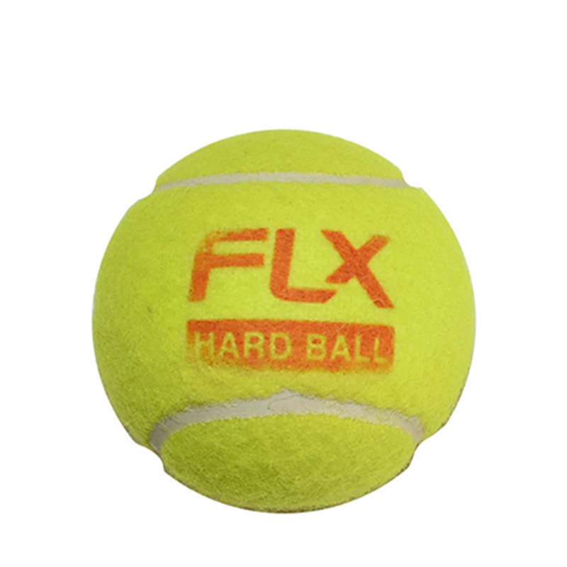 TENNIS BALL CRICKET BALLS ALL PLAYER - HARD TENNIS BALL - FLOURESCENT FLX