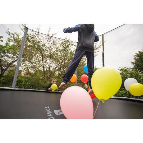trampoline essential 365 vert filet de protection. Black Bedroom Furniture Sets. Home Design Ideas