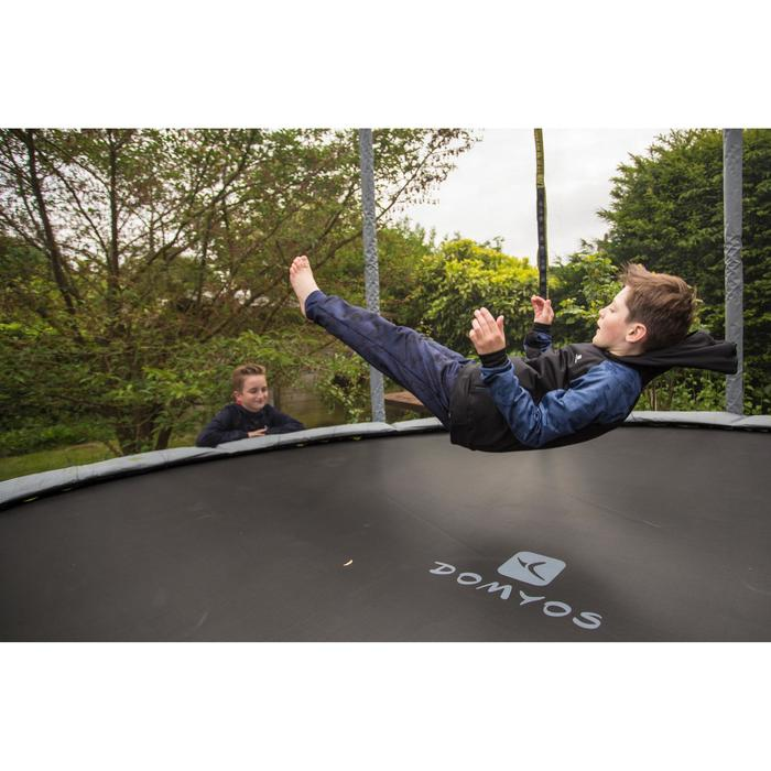 Trampoline ESSENTIAL 365 vert + filet de protection - 1498817