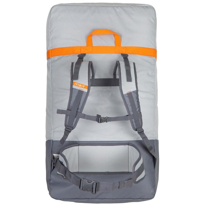 Mochila de transporte de kayak HINCHABLE strenfit X500 1 PLAZA SPV