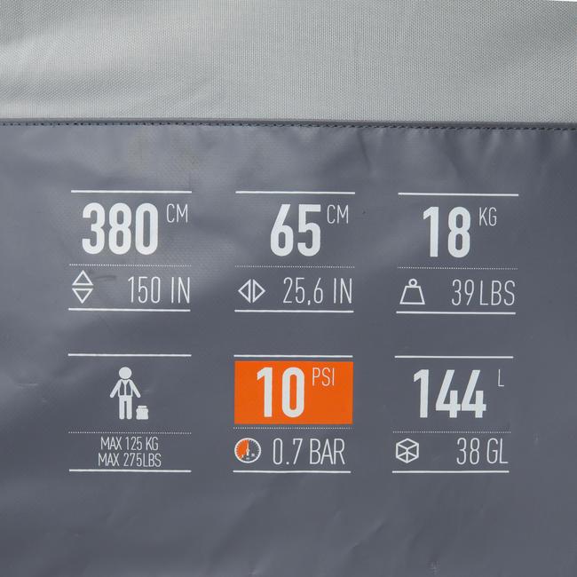 HIGH-PRESSURE DROP STITCH INFLATABLE 1-SEAT KAYAK X500
