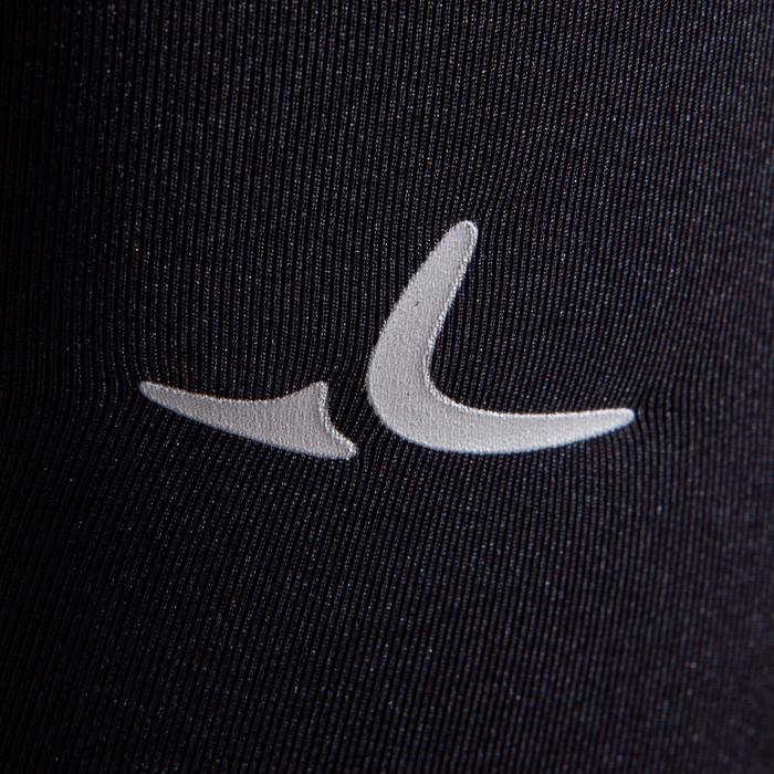 Legging de gymnastique artistique féminine noir sequins - 1498888