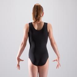 Justaucorps gymnastique artistique féminine noir sequins
