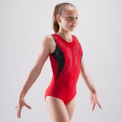 Justaucorps gymnastique artistique féminine sequins