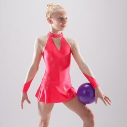 Turnpakje met lange mouwen voor ritmische gymnastiek (RG)