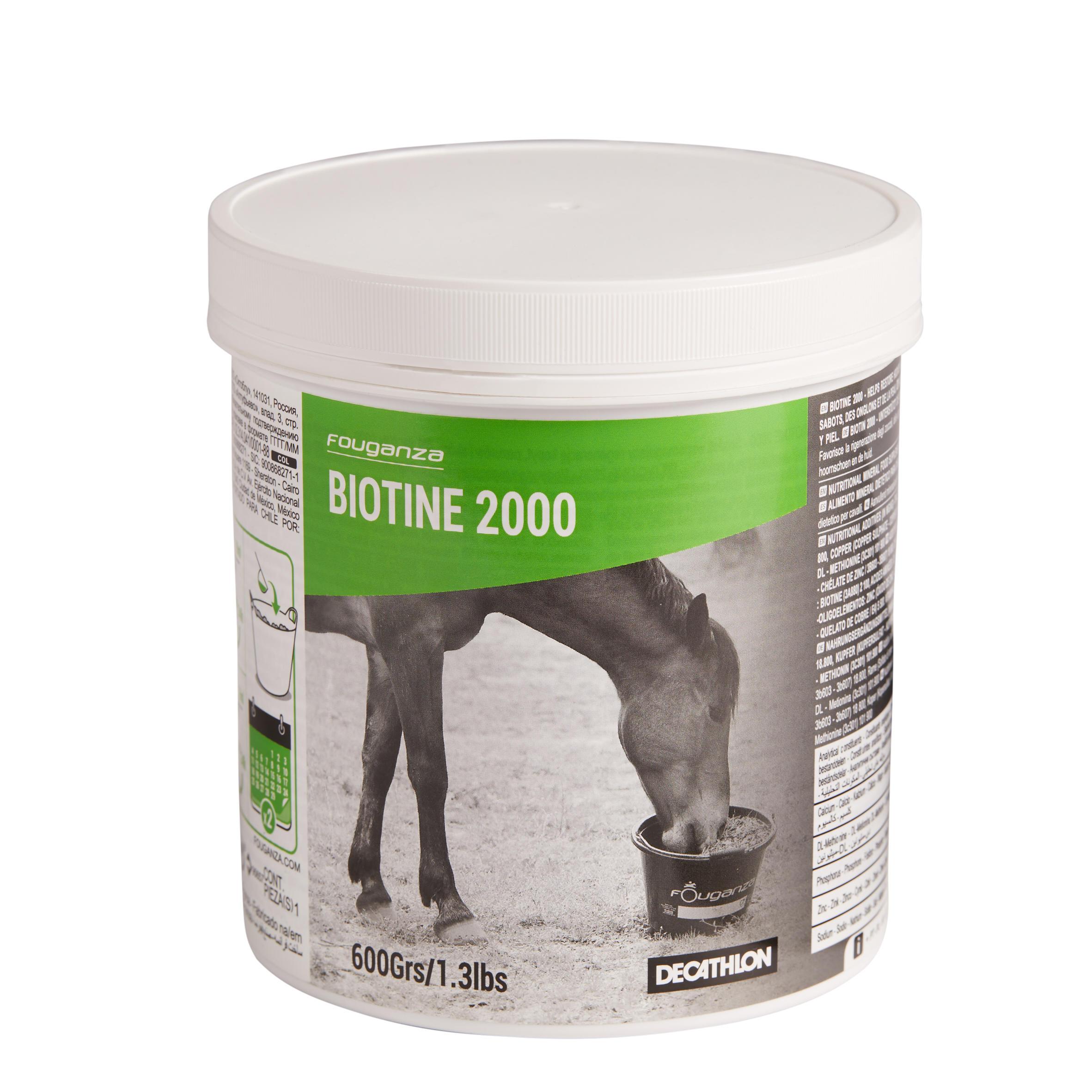Complément alimentaire pour chevaux et poneys BIOTINE (600 g)