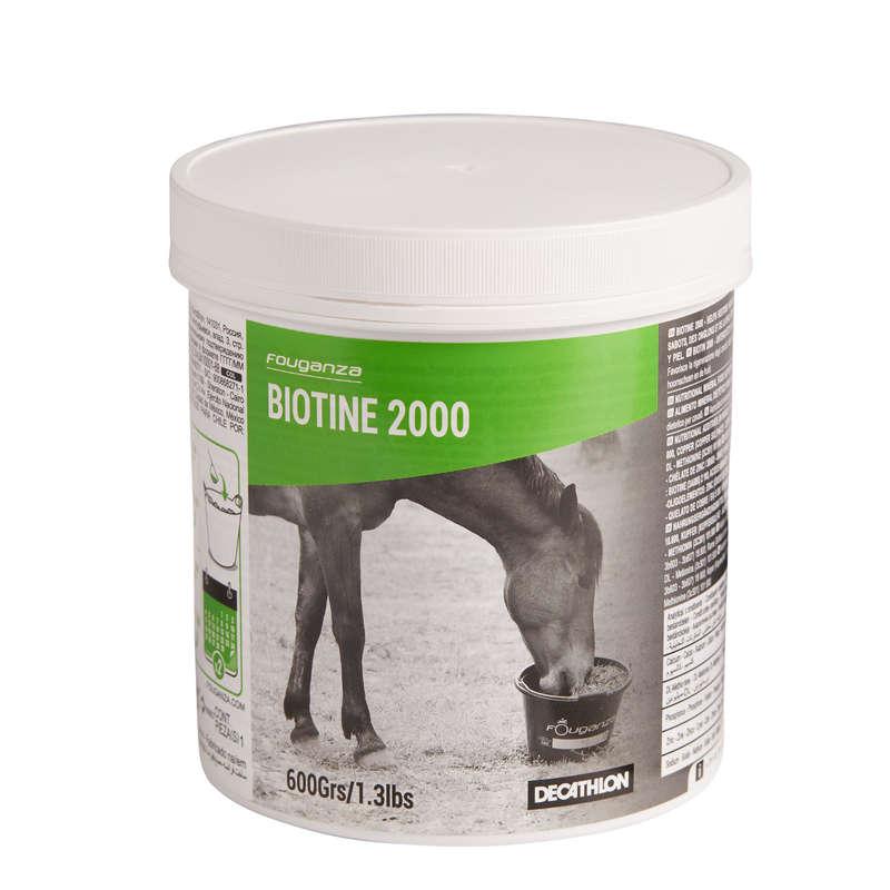 Suplementy diety Jeździectwo - Biotine 600 g FOUGANZA - Jeździectwo