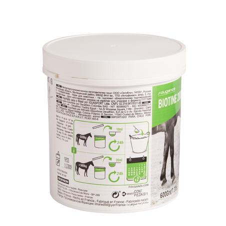 Biotino žirgų pašaro papildas žirgams, poniams, 600 g