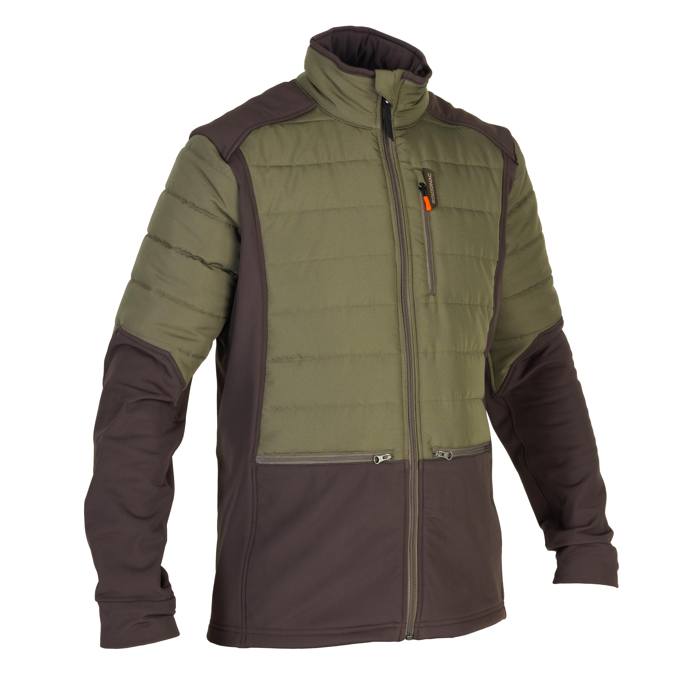 Men's Padded Hybrid Jacket SG-500 Green