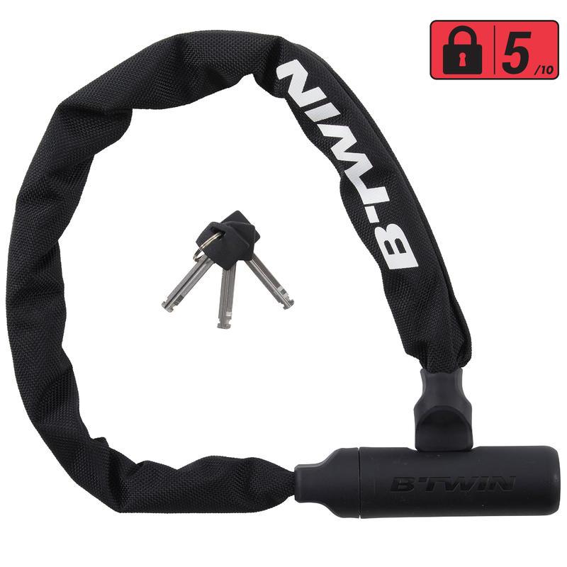 500 Bike Chain Lock Black