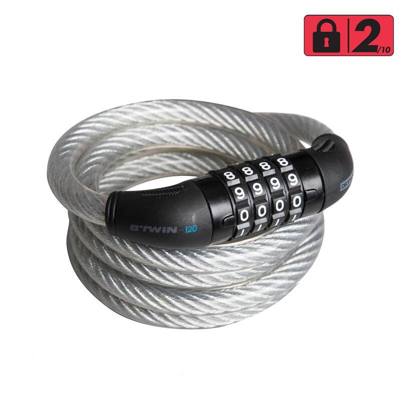 Combination Cable Bike Lock 120