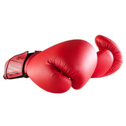 Bokshandschoenen 100 rood voor beginners