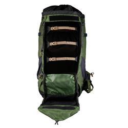 Sac à dos de trekking en montagne homme - TREK 500 - 70+10L olive