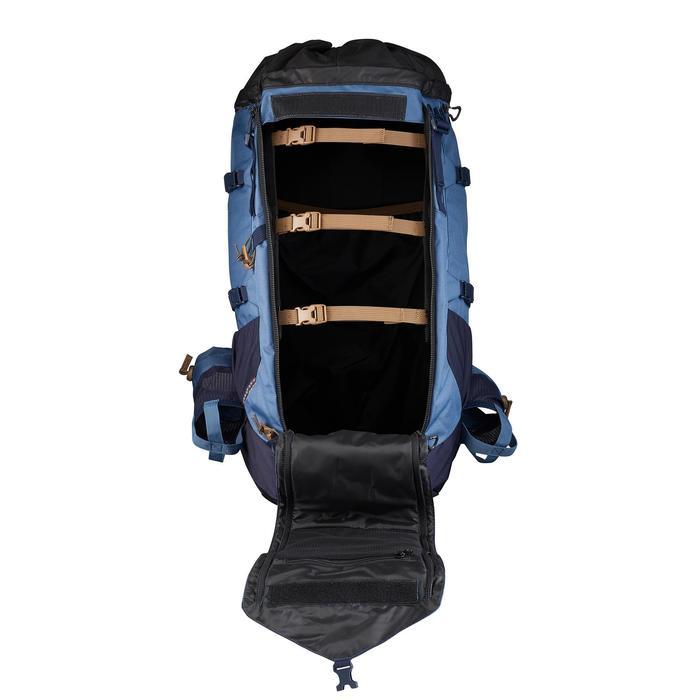 Sac à dos montagne TREK 900 50+10 femme bleu - 1499373