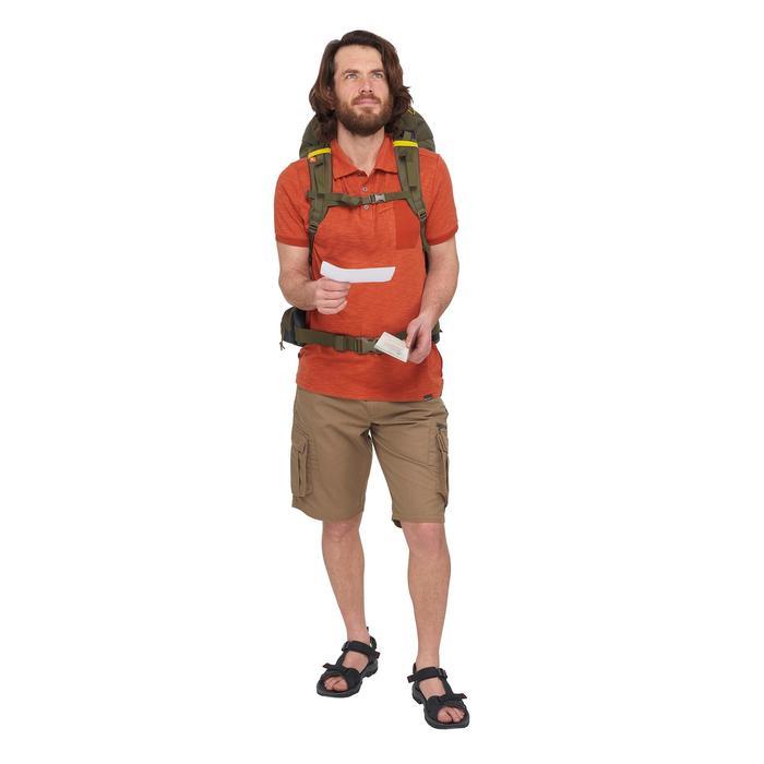 Sac à dos Trekking forclaz 70 litres gris foncé - 1499376
