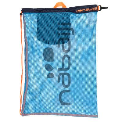 حقيبة حمام سباحة شبكية كبيرة NABAIJI - أزرق/برتقالي