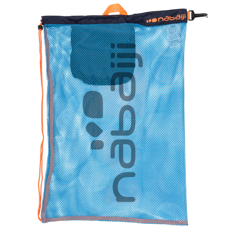 SAC FILET NATATION 500 30L BLEU ORANGE