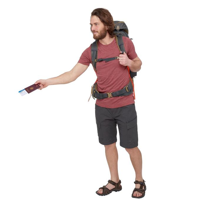 T-Shirt manches courtes randonnée Techwool 155 homme - 1499401