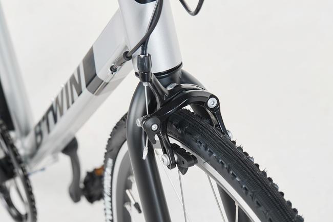 Road cycle Triban 100 Flat bar.