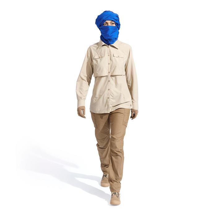 Pantalon de Trekking désert DESERT 500 femme marron - 1499432