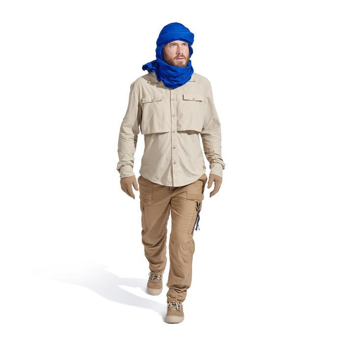 Chemise manches longues de Trekking désert DESERT 500 homme beige - 1499434