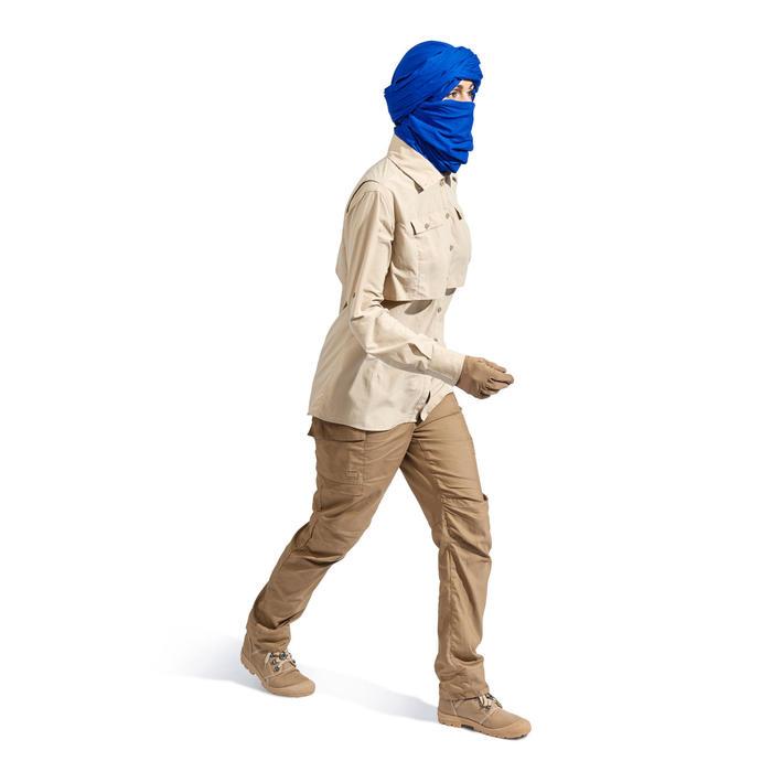 Pantalon de Trekking désert DESERT 500 femme marron - 1499435