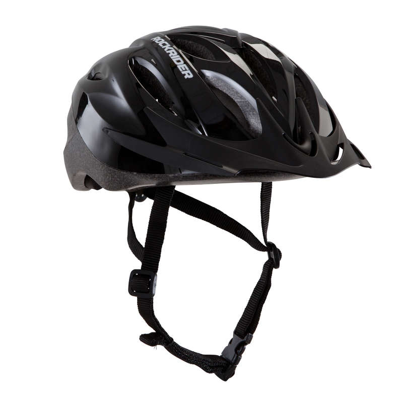 CASCHI MTB ST UOMO Ciclismo, Bici - Casco mtb ST 50 nero ROCKRIDER - ABBIGLIAMENTO MTB UOMO AM