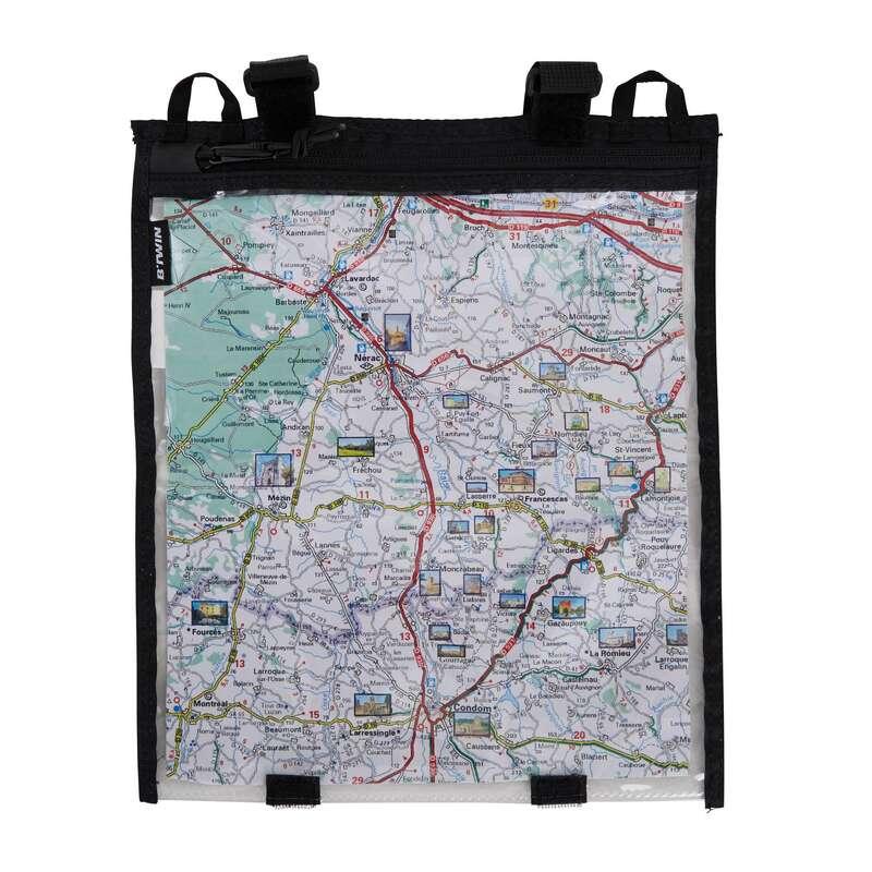 BORSE TEALIO / MANUBRIO BICI TREKKING Orienteering - Porta cartina manubrio BTWIN - Orienteering