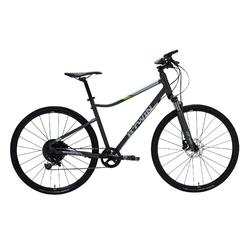 Hybride fiets Riverside 920 antraciet