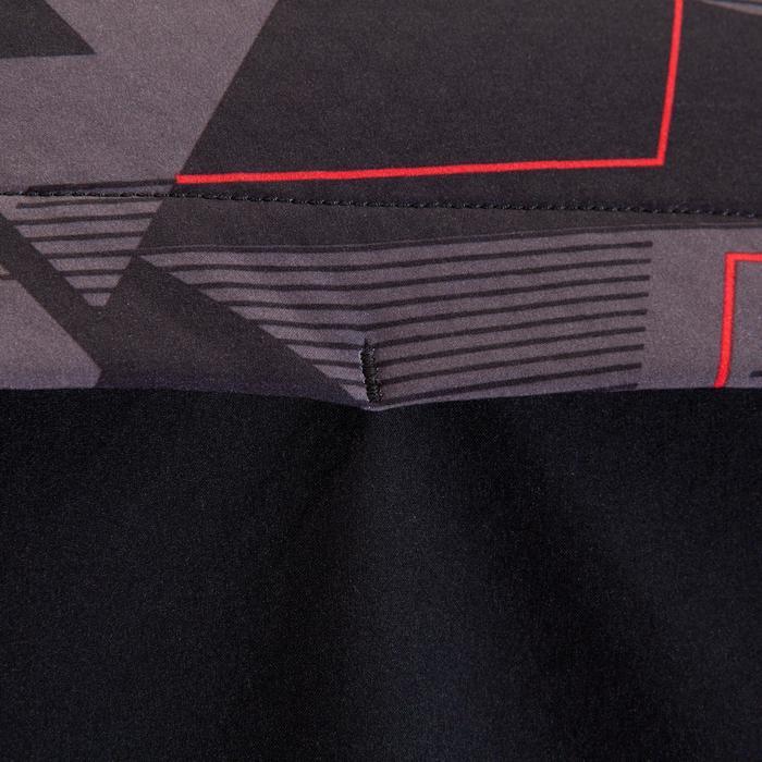 Fietsjas voor heren ST 500 zwart en rood