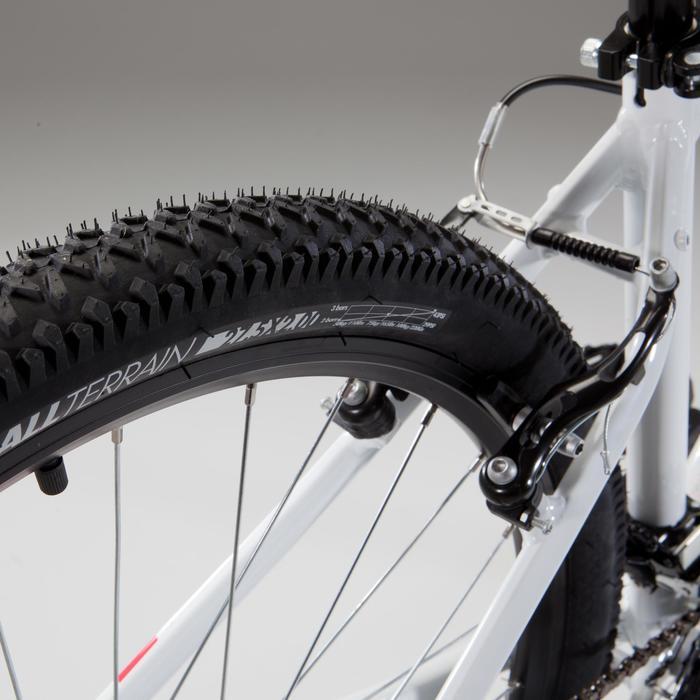 "Mountainbike ST 100 27,5"" MTB Damen weiß/rosa"