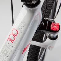"""Жіночий гірський велосипед ST 100, 27,5"""" - Білий/Рожевий"""