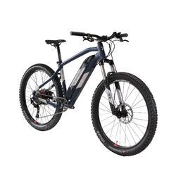 Elektrische MTB E-ST500 dames blauw/chroom