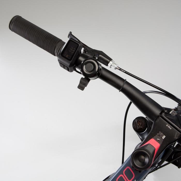 Elektrische mountainbike voor dames E-ST500 blauw/chroom