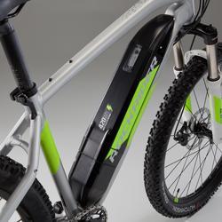 "Elektrische mountainbike E-ST 500 V2 27.5"" grijs/geel"