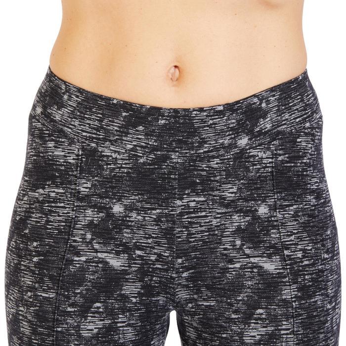 Corsaire 520 Gym & Pilates femme noir imprimé