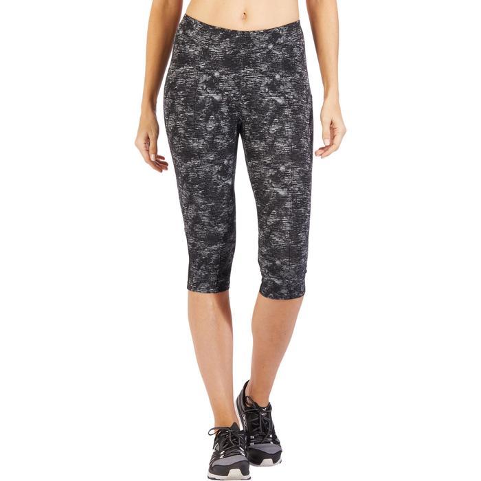 Corsaire 520 Gym & Pilates femme noir imprimé - 1499833