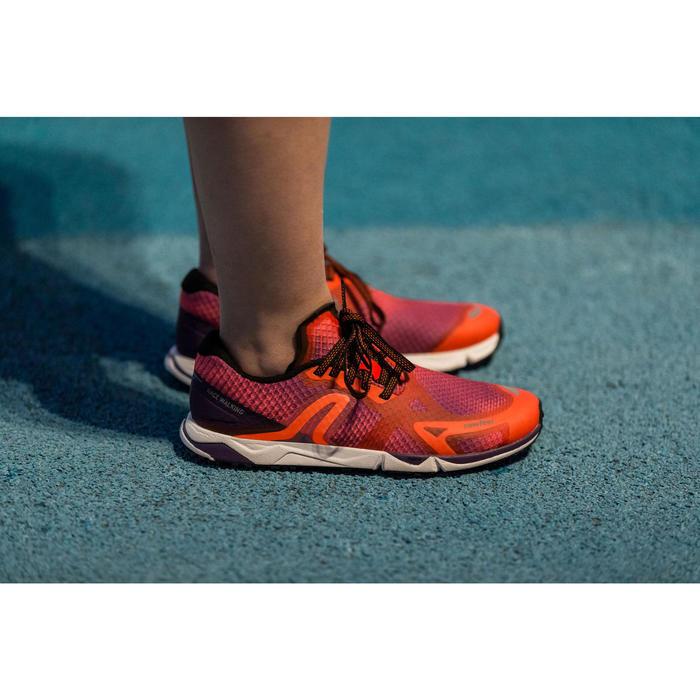 Schoenen voor snelwandelen RW 900 paars / oranje