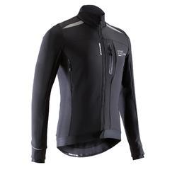 Fietsjas voor heren 500 roadcycling koud weer zwart